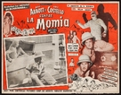 Abbott and Costello Meet the Mummy - Mexican poster (xs thumbnail)