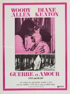 Love and Death - French Movie Poster (xs thumbnail)