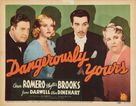 Dangerously Yours - Movie Poster (xs thumbnail)