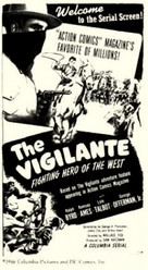The Vigilante: Fighting Hero of the West - Movie Poster (xs thumbnail)
