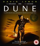 Dune - British Blu-Ray movie cover (xs thumbnail)