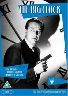 The Big Clock - British DVD cover (xs thumbnail)