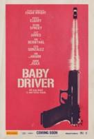 Baby Driver - Australian Movie Poster (xs thumbnail)
