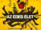 La dolce vita - Hungarian Movie Poster (xs thumbnail)