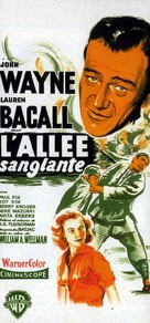 Blood Alley - French Movie Poster (xs thumbnail)