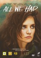 All We Had - Danish Movie Cover (xs thumbnail)