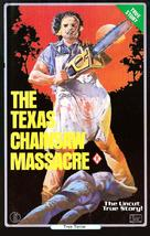 The Texas Chain Saw Massacre - Australian VHS cover (xs thumbnail)