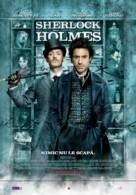 Sherlock Holmes - Romanian Movie Poster (xs thumbnail)