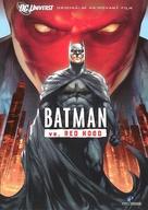 Batman: Under the Red Hood - Czech DVD movie cover (xs thumbnail)