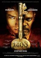 1408 - Norwegian Movie Poster (xs thumbnail)