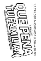 Qué pena tu familia - Chilean Logo (xs thumbnail)