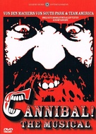 Alferd Packer: The Musical - German DVD movie cover (xs thumbnail)