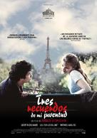 Trois souvenirs de ma jeunesse - Spanish Movie Poster (xs thumbnail)
