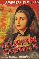La leona de Castilla - Spanish Movie Poster (xs thumbnail)
