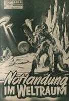 Robinson Crusoe on Mars - German poster (xs thumbnail)