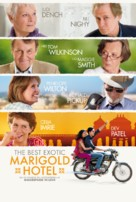 The Best Exotic Marigold Hotel - Danish Movie Poster (xs thumbnail)