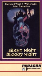 Silent Night, Bloody Night - VHS cover (xs thumbnail)