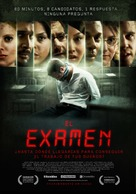 Exam - Argentinian Theatrical poster (xs thumbnail)
