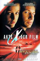 The X Files - German DVD movie cover (xs thumbnail)