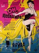 Oh... Rosalinda!! - Danish Movie Poster (xs thumbnail)