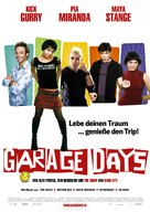 Garage Days - German poster (xs thumbnail)