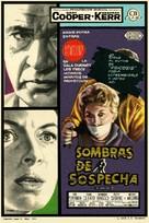 The Naked Edge - Spanish Movie Poster (xs thumbnail)