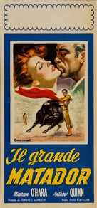 The Magnificent Matador - Italian Movie Poster (xs thumbnail)
