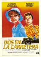 Two for the Road - Spanish Movie Poster (xs thumbnail)