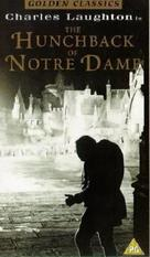 The Hunchback of Notre Dame - British VHS movie cover (xs thumbnail)