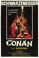 Conan The Barbarian - Mexican Movie Poster (xs thumbnail)