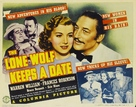 The Lone Wolf Keeps a Date - Movie Poster (xs thumbnail)
