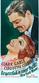 It Happened One Night - German Movie Poster (xs thumbnail)