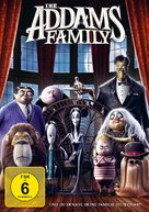 The Addams Family - German DVD movie cover (xs thumbnail)