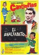 El analfabeto - Mexican Movie Poster (xs thumbnail)