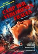 Caged Fury - German Movie Poster (xs thumbnail)