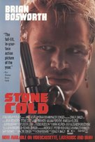 Stone Cold - Video release poster (xs thumbnail)