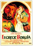 Lucrèce Borgia - French Movie Poster (xs thumbnail)