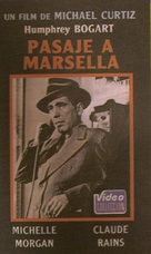 Passage to Marseille - Argentinian VHS cover (xs thumbnail)