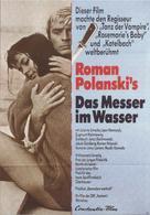 Nóz w wodzie - German Movie Poster (xs thumbnail)