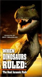"""""""When Dinosaurs Ruled"""" - VHS movie cover (xs thumbnail)"""