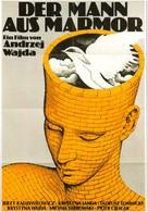 Czlowiek z marmuru - German Movie Poster (xs thumbnail)