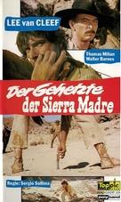 La resa dei conti - German VHS movie cover (xs thumbnail)