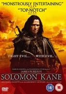 Solomon Kane - British DVD cover (xs thumbnail)