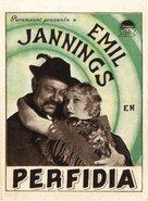 Betrayal - Spanish Movie Poster (xs thumbnail)