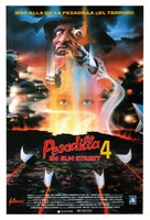 A Nightmare on Elm Street 4: The Dream Master - Spanish Movie Poster (xs thumbnail)