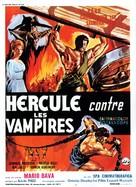 Ercole al centro della terra - French Movie Poster (xs thumbnail)