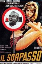 Il sorpasso - Italian Movie Poster (xs thumbnail)