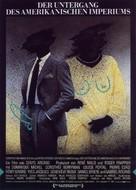 Déclin de l'empire américain, Le - German Movie Poster (xs thumbnail)