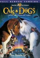 Cats & Dogs - Australian DVD movie cover (xs thumbnail)