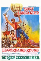 The Crimson Pirate - Belgian Movie Poster (xs thumbnail)